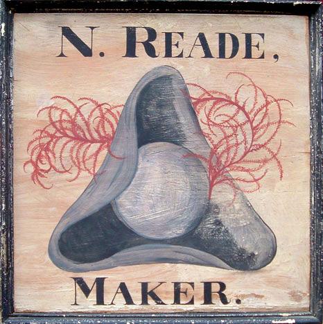 Hatmaker sign
